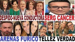 SERGIO SEPULVEDA cancer CARLOS ARENAS enojo VENTANEANDO nueva conductora  / ARGUENDE TV