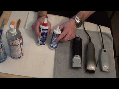 Clipper blade care (Part 1 of 2)