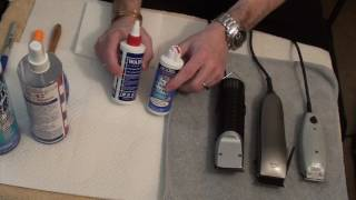 Video Clipper blade care (Part 1 of 2) - Cleaning & Oiling Clipper Blades download MP3, 3GP, MP4, WEBM, AVI, FLV Mei 2018