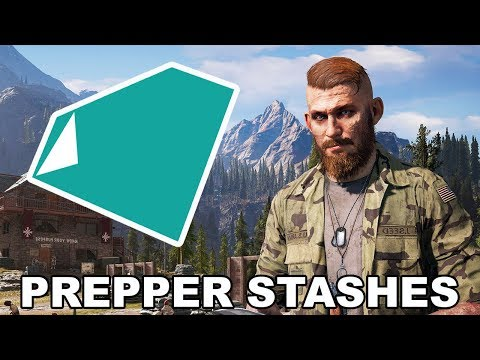 Far Cry 5 - All Whitetail Mountains Prepper Stash Locations
