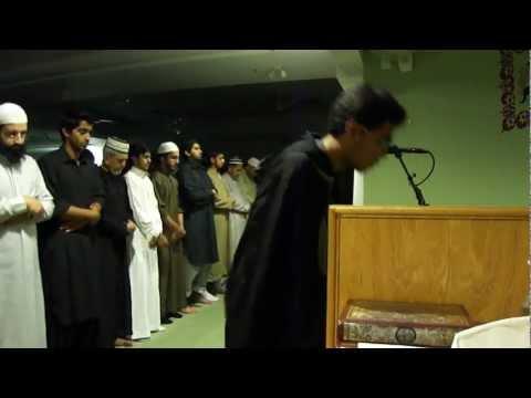 Fawaz and Fayez leading Qiyam ul layl @ ISNA, Mississauga, ON