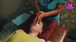 Тайский массаж головы и лица + фут-массаж