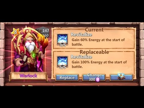 Castle Clash - Another Attempt To Roll For Harpy Queen And Some Talents
