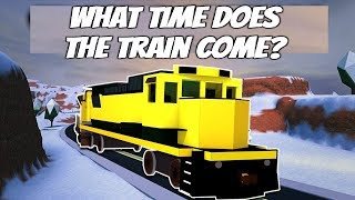 Roblox Jailbreak How To Know When The Train Comes! What Time Does The Train Come Jailbreak Roblox