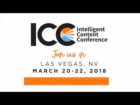 Intelligent Content Conference 2018