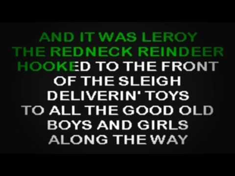 SC2173 02   Christmas   Leroy The Redneck Reindeer [karaoke]