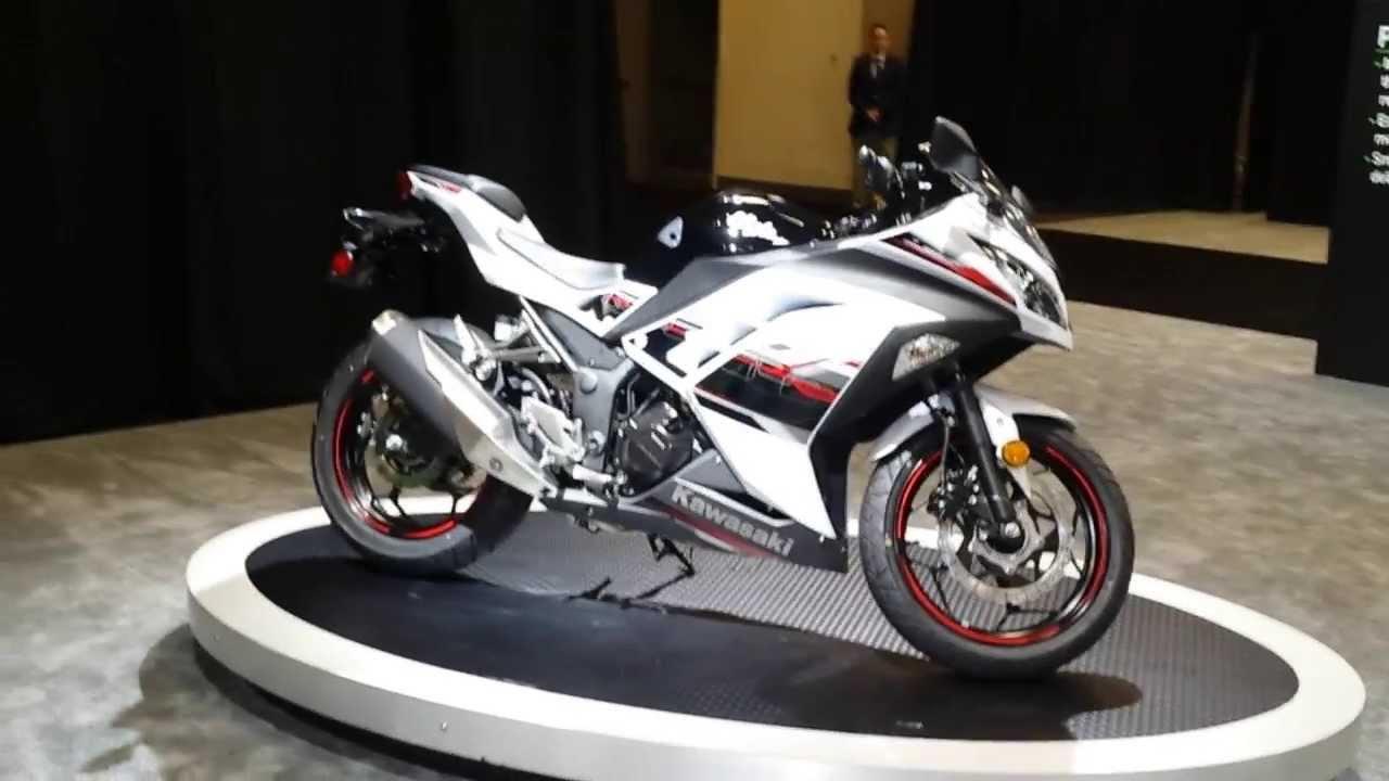 All New 2014 Kawasaki Ninja 300 Abs Limited Edition Youtube