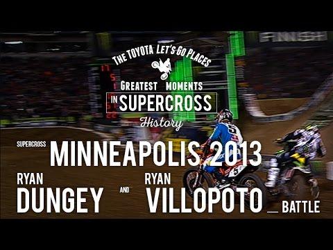 Minneapolis 2013 | Ryan Dungey and Ryan Villopoto battle
