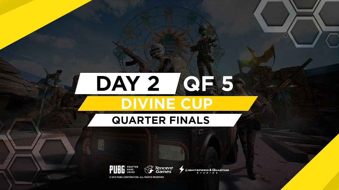 2010 UC GIVEAWAY ON 10K | [Day 2 ] QUARTER FINALS - Divine Cup | PUBG Mobile | Divine God