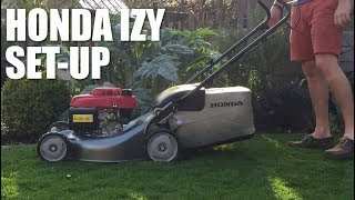 Видео Setting up Honda Izy (автор: The Enduring Gardener)