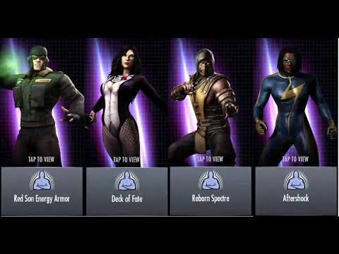 23injustice unreleased characters special and super move