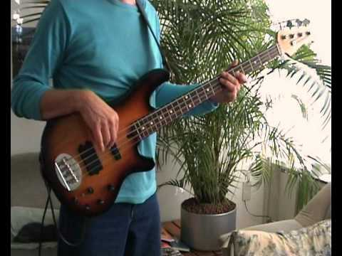Creedence Clearwater Revival Green River Bass Cover Youtube
