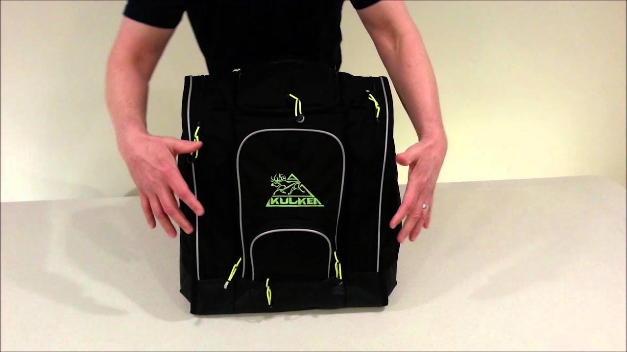 Best Ski Boot Bag - Kulkea Boot Trekker - Video - YouTube 7fd70099a09ae