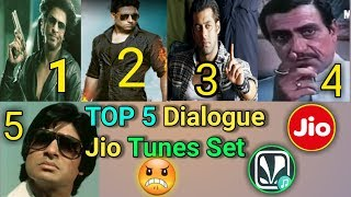 Top 5 Jio Tune Dialogue || Dialogue jio tune kaise set kare