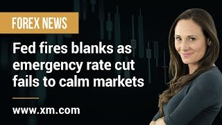 Forex News: 04/03/2020 - Fed fires blanks as emergency rate cut fails to calm markets