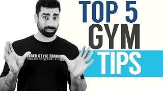 TOP 5: Gym Tips for Beginners