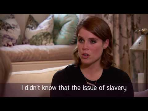 HRH Princess Eugenie interview with Major Anne Read