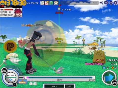 Download Pangya Global -43 Blue Lagoon (full game play)