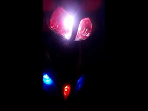 Test đèn và xe jupiter RC2011 độ nhẹ