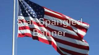 Star Spangled Banner lyrics vocals and beautiful photos