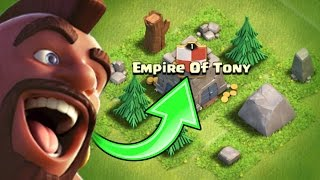 "BIRTH OF A NEW CLAN!! 🔥 Clash Of Clans ""EMPIRE OF TONY!"" 🔥"