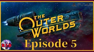 Playing The Outer Worlds Finale & Ending - Episode 5 Livestream Gameplay in Korea with Commentary
