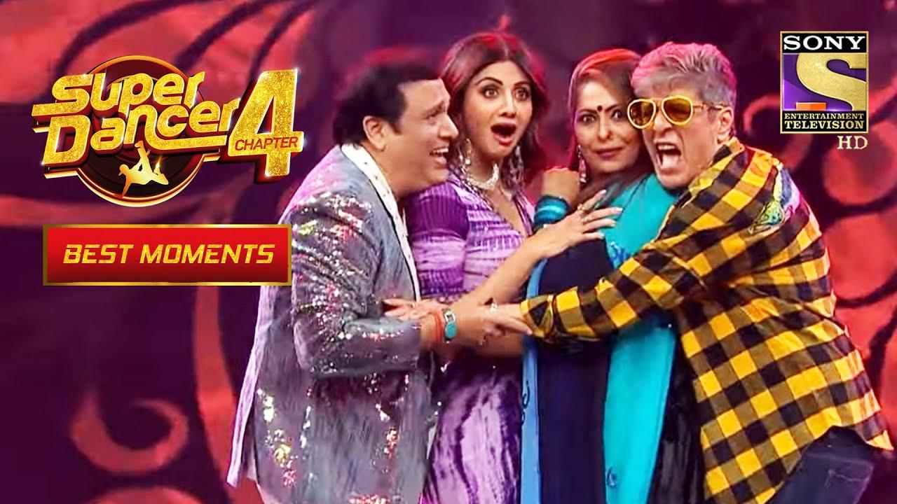 "Download Govinda और Chunky ने किया ""O Lal Dupatte Wali"" Song पे Dance   Super Dancer 4   सुपर डांसर 4"