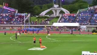 2017 山形インターハイ陸上 女子4×100m 予選5~8