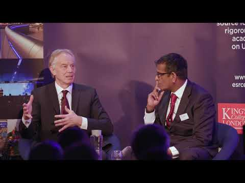 Keynote conversation with Tony Blair
