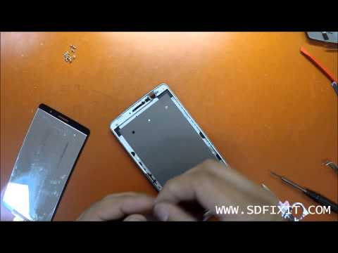 How to replace LG G STYLO LS770 LCD Glass Screen Digitizer Disasembly Replacement