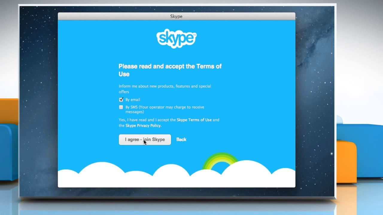 Sign In To Skype� For Mac� Os X™ With Facebook� Account