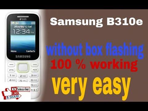 samsung b310e flashing without box