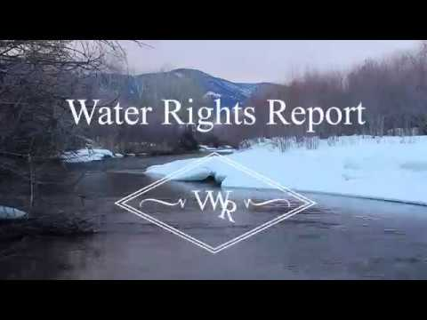 The Appeal of Water Rights