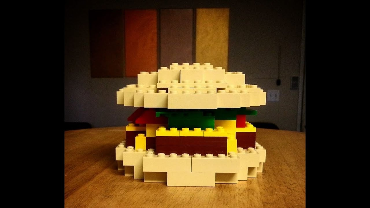 LEGO BURGER - YouTube