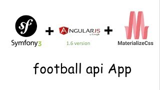 Symfony2 & 3 and AngularJs1.6 - Episode 16 - Using Api Rest for Fixtures