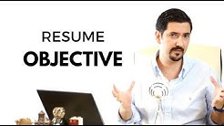 Resume Objective - Learn How To Write The Best Resume Objective ✓