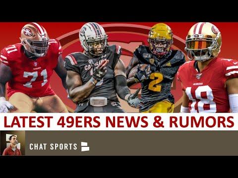 49ers-news:-brandon-aiyuk-&-javon-kinlaw-sign-rookie-deals-+-49ers-trade-rumors-on-dante-pettis