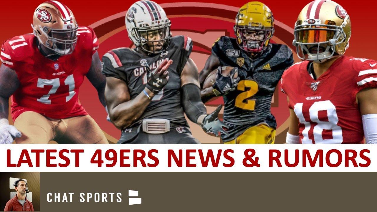 49ers News: Brandon Aiyuk & Javon Kinlaw Sign Rookie Deals + 49ers Trade Rumors On Dante Pettis