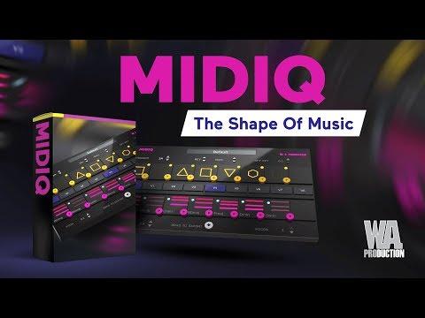 MIDIQ MIDI Processing Plugin - The Shape Of Music (VST / AU)