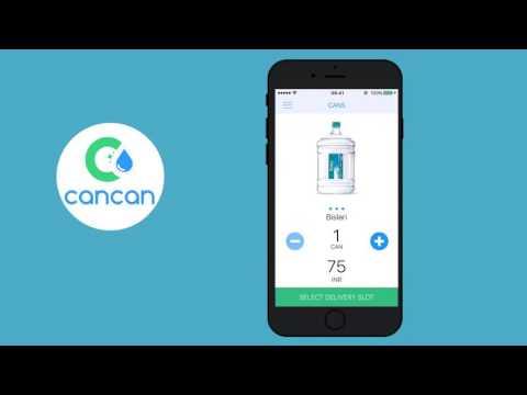 CanCan A Watercan Book App