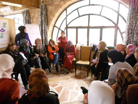 Palestinian refugee women engage in Open Space