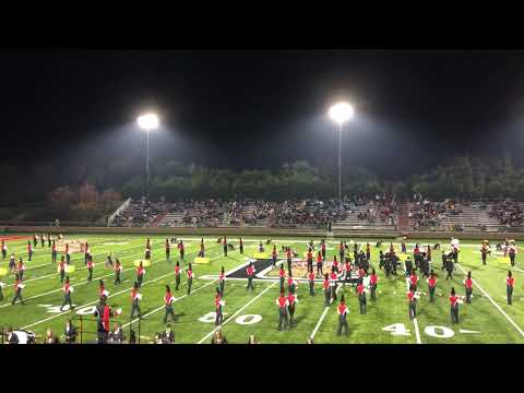 Laguna Creek HS, Lincoln Band Review, November 16, 2019
