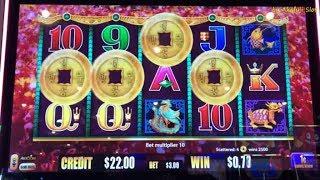 "New Slot ""5 KINGS"" Bet $3 [BIG WIN] & Dancing Drums Slot, Barona [女子スロット] [スロットライブ] [カリフォルニア] [カジノ]"