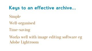 How to manage and organise your digital photos: #2 Organising your archive