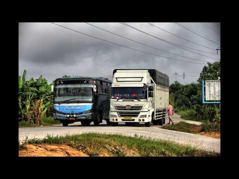 Kompilasi Aksi Sopir Bus LINTAS SUMATRA  PART2