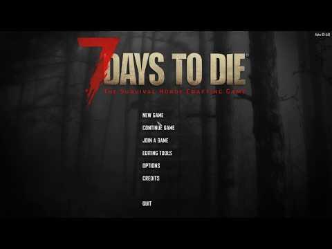 Повышаем градус жести. Безумие, 25% лута, 32 зомби, без квестов - 7 Days To Die (Alpha 18s2) #01