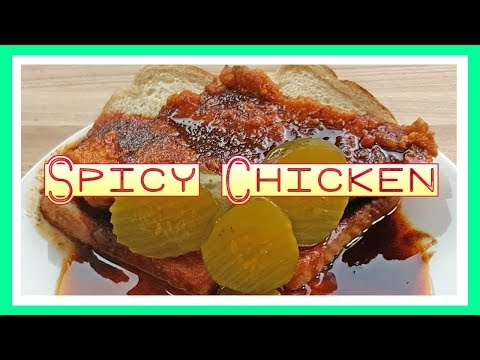Nashville Style Hot Chicken Tenders