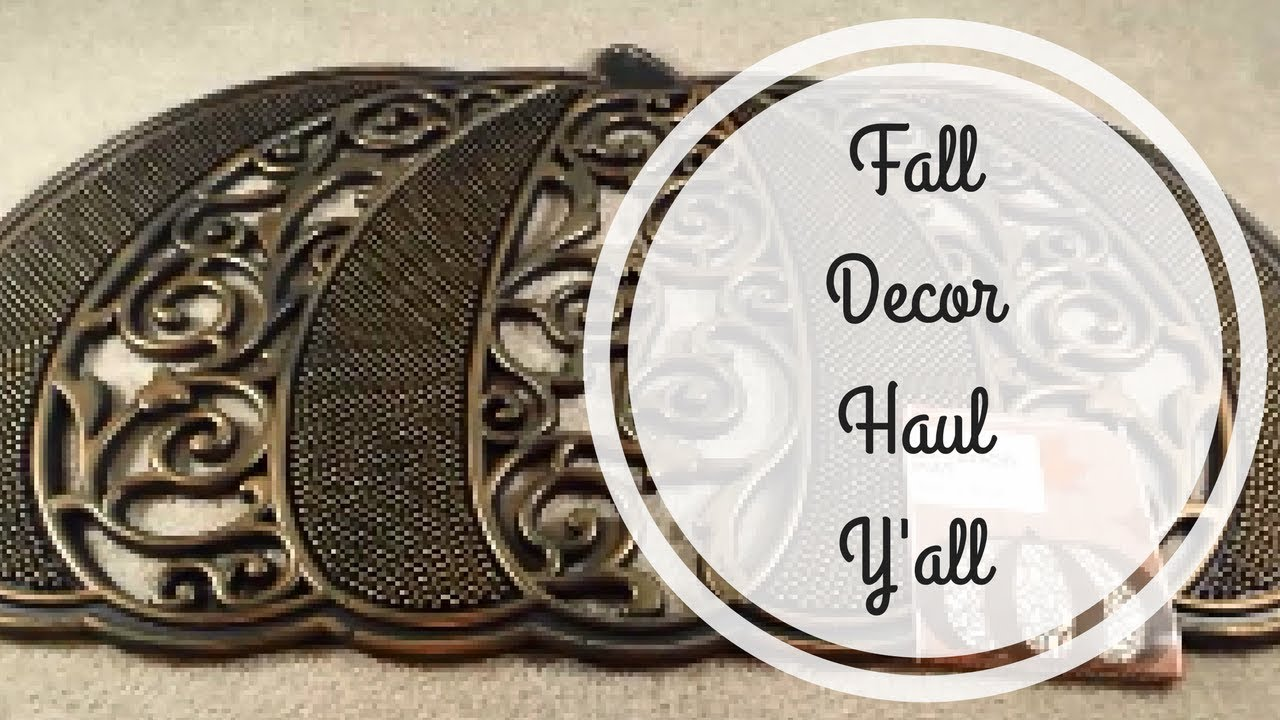 fall home decor haul from big lots and dollar tree - Big Lots Home Decor