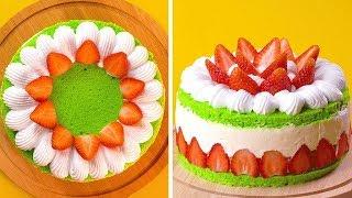 Making Easy Watermelon Dessert | Homemade Cake Decorating Tutorials | So Tasty