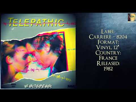 Telepathic – We Are Telepathique (1982 My Favorite Collection )✅